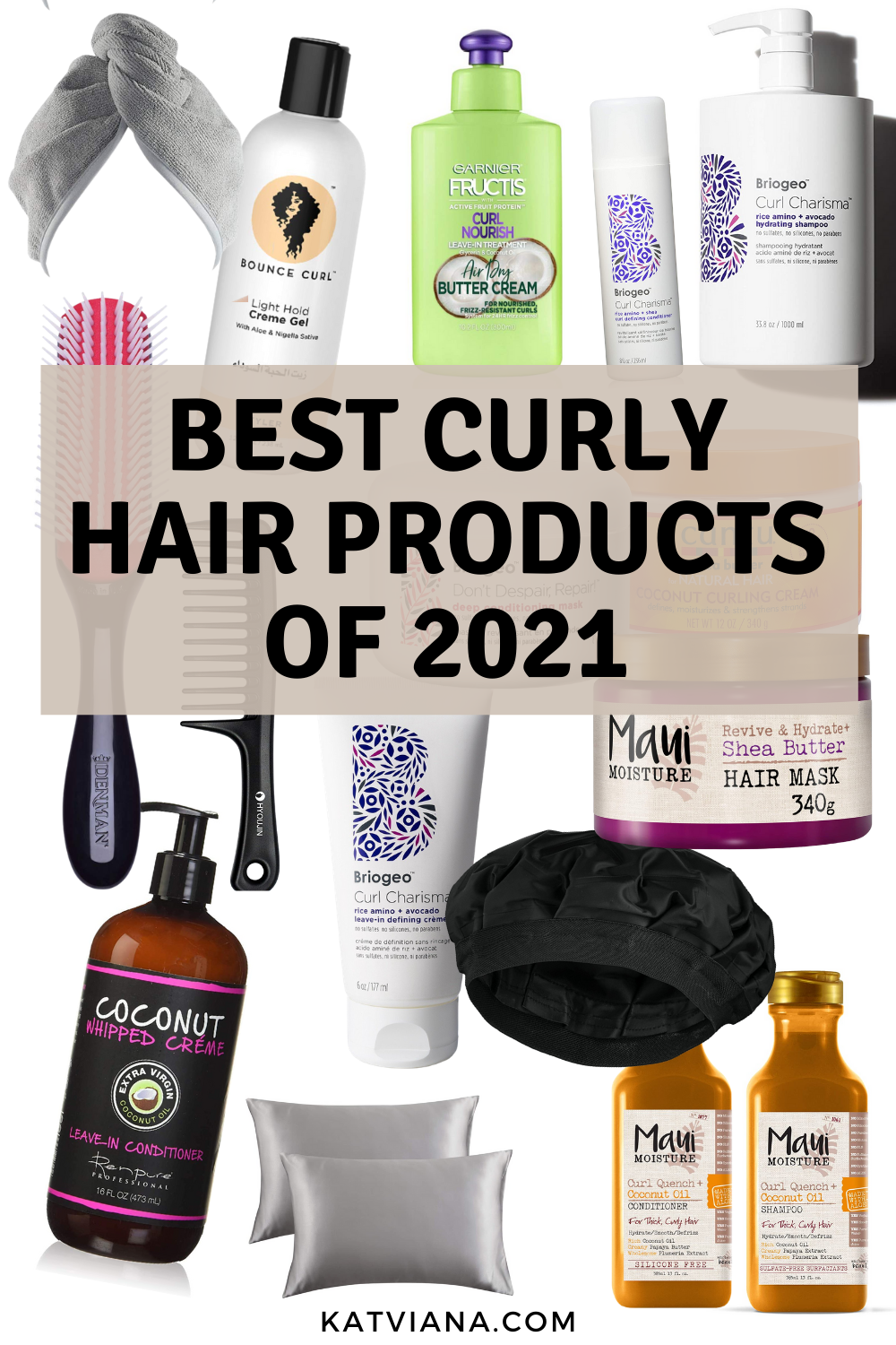 Best Curly Hair Products of 20   Kat Viana